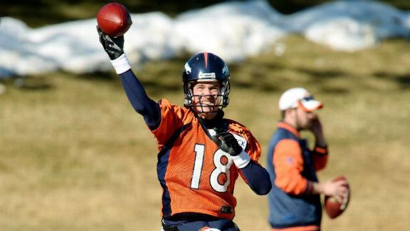 Peyton ready to move on from Super Bowl