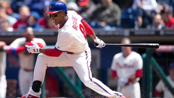 Ben Revere's RBI Single Lifts Phils