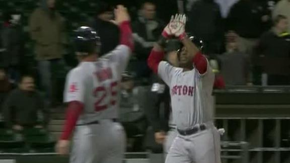 Bradley, Boston win Sox battle in 14