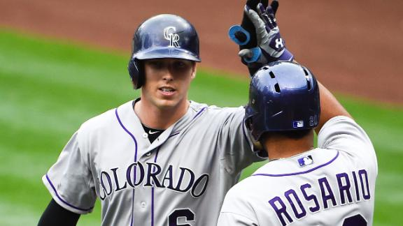 Video - Rockies Slip Past Padres