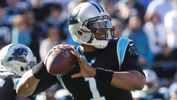 Panthers pick up Newton's option for 2015