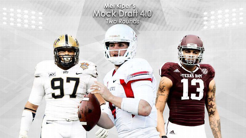 Kiper's Mock Draft 4.0