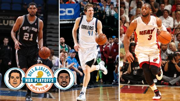 Will Wade, Nowitzki, or Duncan Fade First?