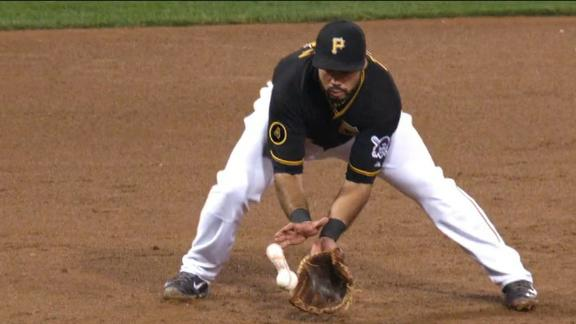 Video - Maldonado Rips Cover Off Baseball