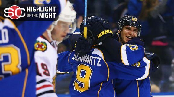 Blues Win In Triple OT