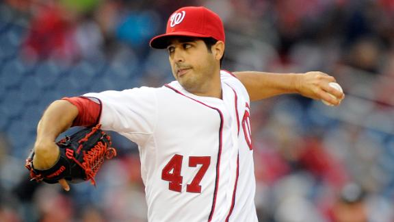 Video - Gonzalez Pitches Nationals Past Cardinals