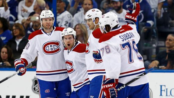 Video - Canadiens Cruise Past Lightning