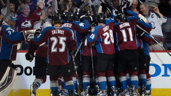 Stastny Lifts Avs To OT Win
