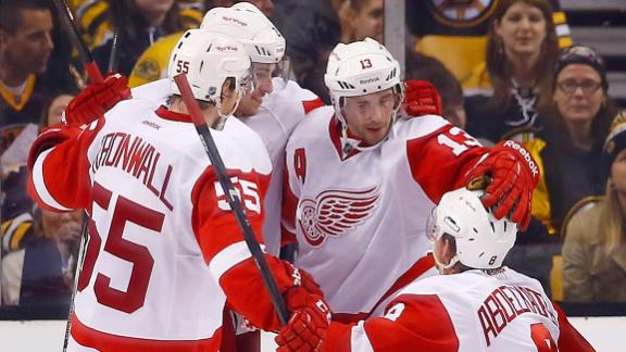 Video - Late Goal Lifts Red Wings