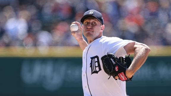 Scherzer notches first
