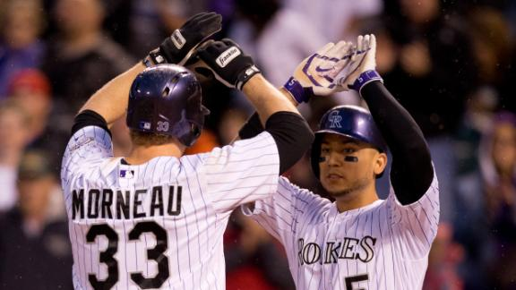 Video - Morneau, Rockies Drop Phillies