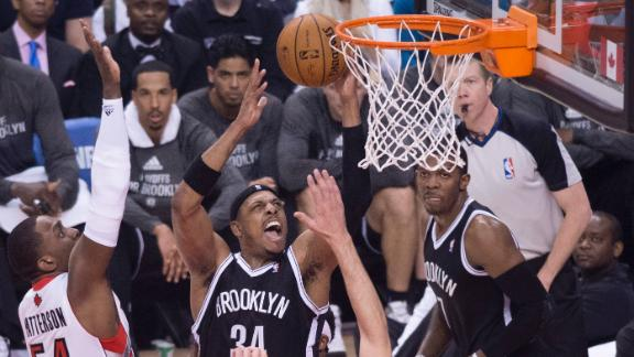 Pierce, Nets Top Raptors In Opener