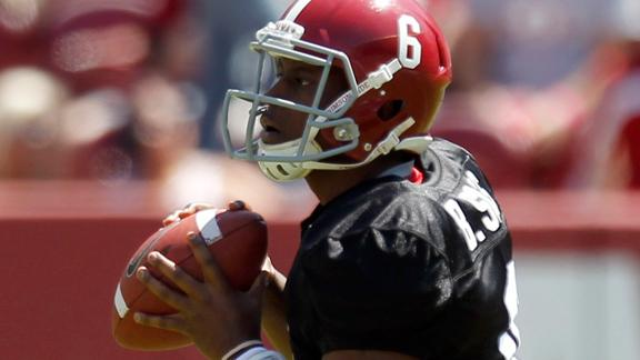 QB Struggles A Concern For Alabama