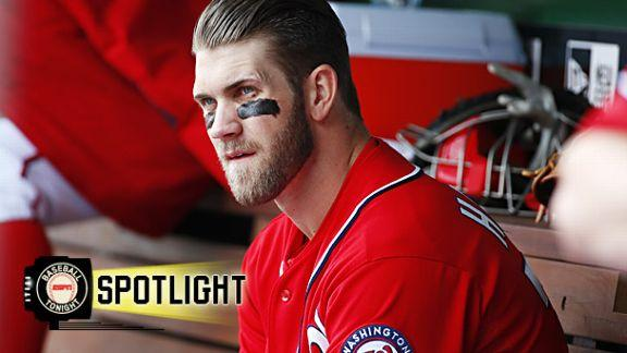 Harper back in Nats' lineup after benching