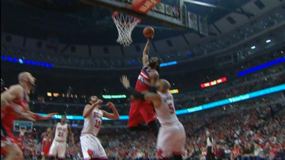 Video - Nene Dunks On Boozer