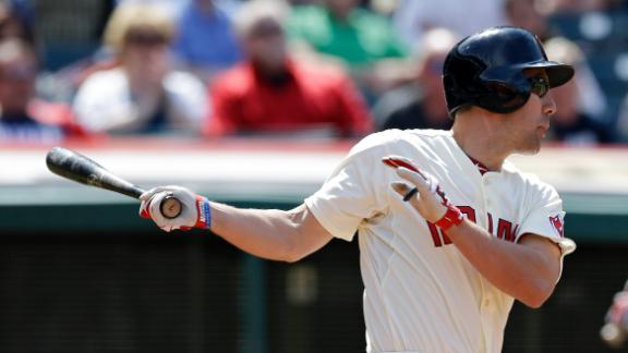 Murphy's Three-Run Double Sparks Indians