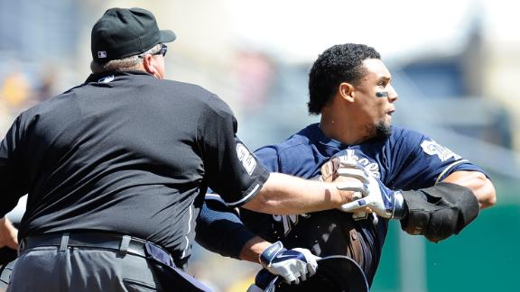 Brawl Erupts In Brewers-Pirates Game