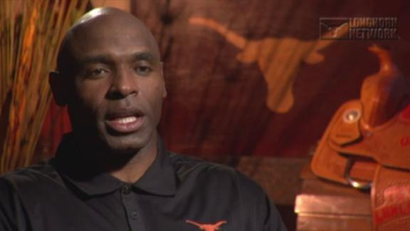Texas' Strong Discusses Aggressive Offense, Defense