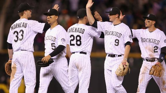 Rockies Sneak Past Giants