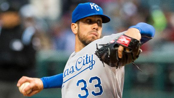Shields, Royals Shut Down Indians