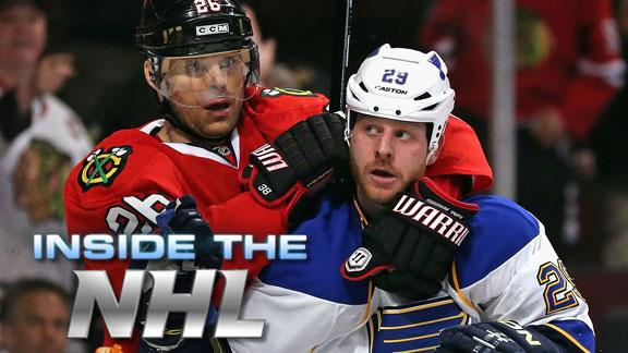 Video - Bad Blood Boiling Between Blues-Blackhawks