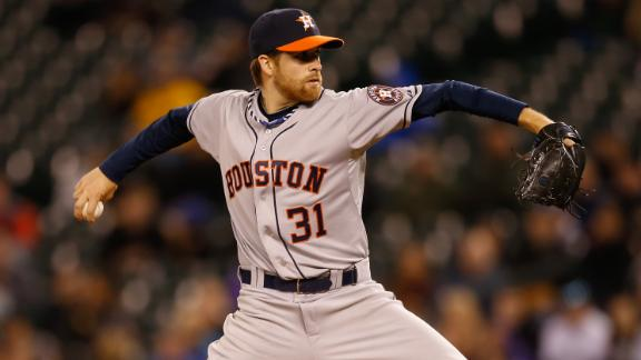 McHugh, Astros Shut Down Mariners