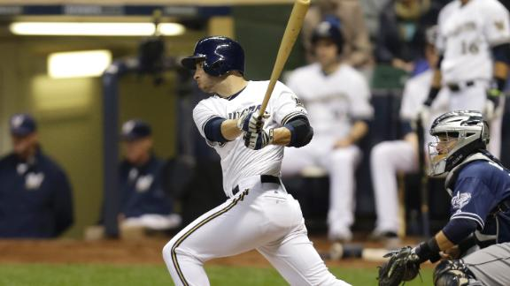 Brewers Push Past Padres