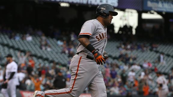 Long Ball Leads Giants Past Rockies