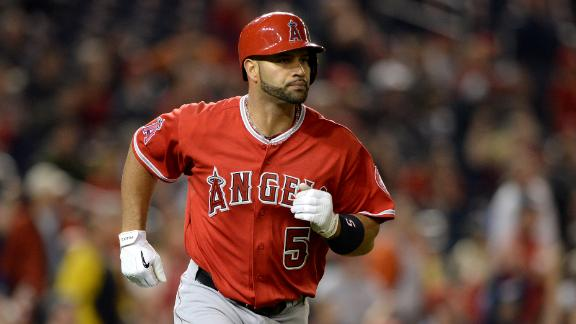 Pujols Talks Milestone Home Run