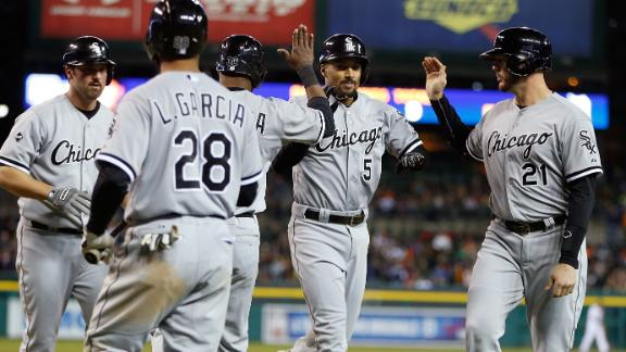Grand Slam Leads White Sox To Win
