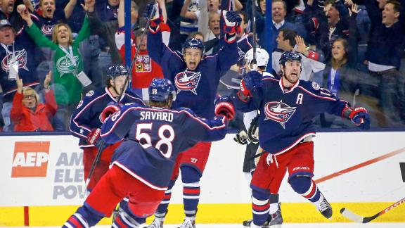 Video - Blue Jackets Come Back To Beat Penguins