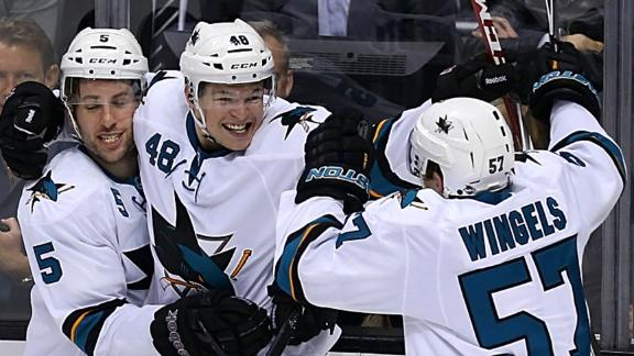 Video - Sharks Top Kings In OT