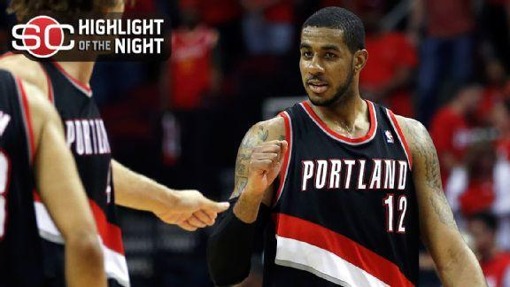 Aldridge, Blazers Take 2-0 Lead