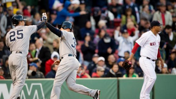 Yankees Pound Red Sox To Take Series