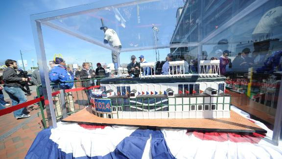 Video - Wrigley Field Cake Ends Up In The Dumpster