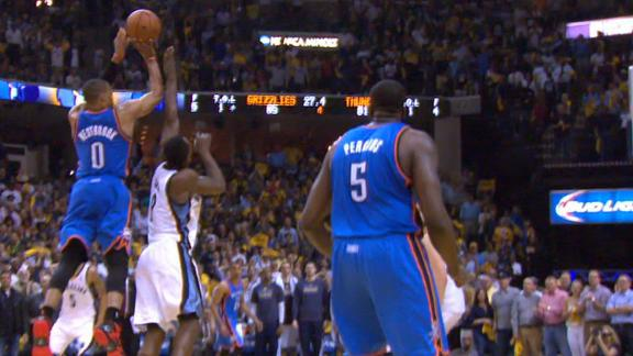 Video - Westbrook's Amazing 4-Point Play