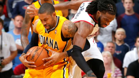 Video - Pacers Escape Hawks, Even Series At 2-2