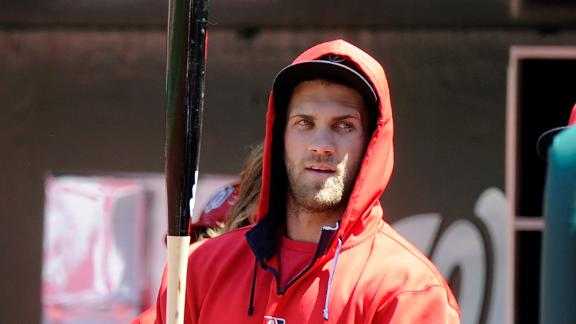 Nats' Harper has surgery on injured thumb