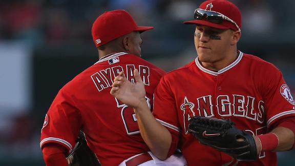 Angels deal reeling Indians 6th straight loss