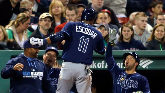 Rays sweep doubleheader against Red Sox