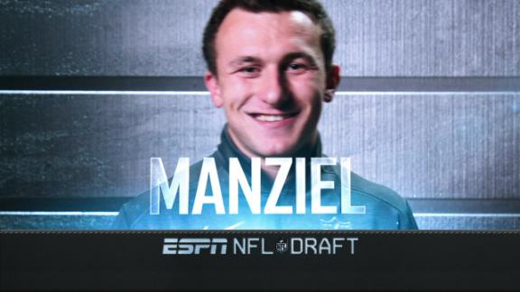 Manziel falls to Browns at No. 22 after trade