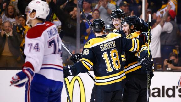 Bruins Rally To Even Series