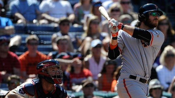 Giants hand Braves sixth loss in row