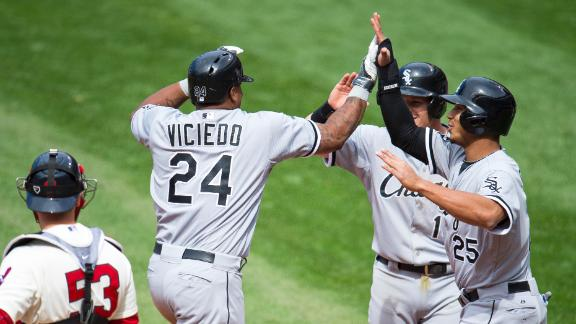 Video - Viciedo's Ninth-Inning Blast Lifts White Sox