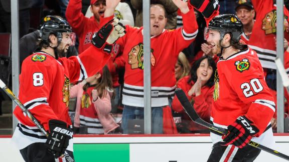 Video - Blackhawks Take 2-0 Lead
