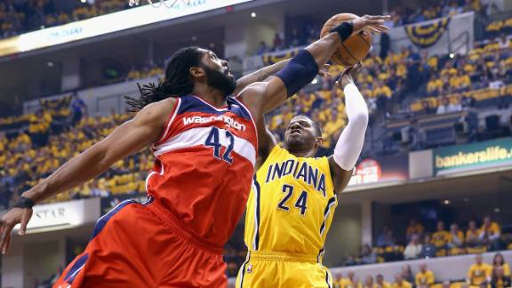 Wizards Steal Home Court From Pacers