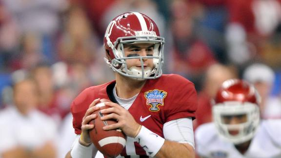 NFL Draft Highlight Reel: AJ McCarron