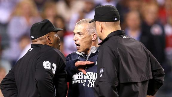 Girardi Ejected In Yankees' Loss