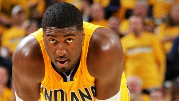 Pacers Veterans Meet With Hibbert