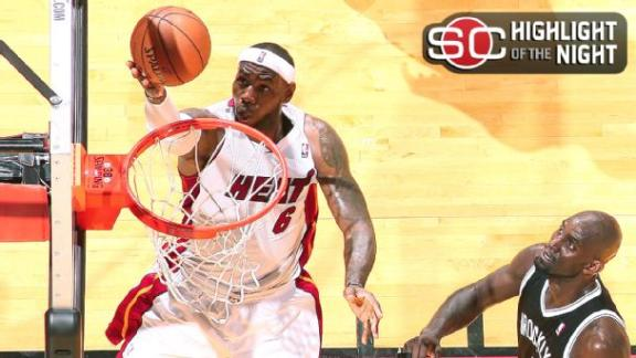 Heat Cruise Past Nets In Game 1